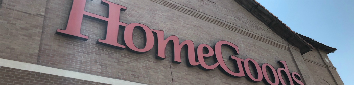 homegoods store sign