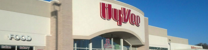 Hy-Vee store sign