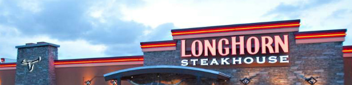 longhorn steakhouse store sign