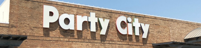 party city store sign