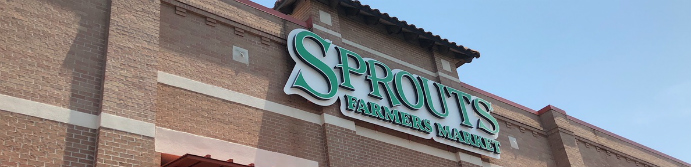 Sprouts Farmers Market store sign
