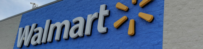 walmart sign outside store